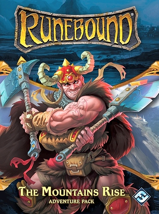 Runebound (Third Edition): The Mountains Rise – Adventure Pack - obrázek
