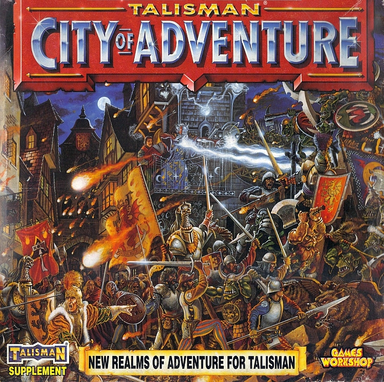 Talisman (third edition): City of Adventure - obrázek