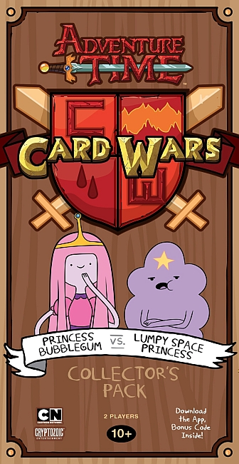 Adventure Time Card Wars: Bubblegum vs. Lumpy Space Princess - obrázek