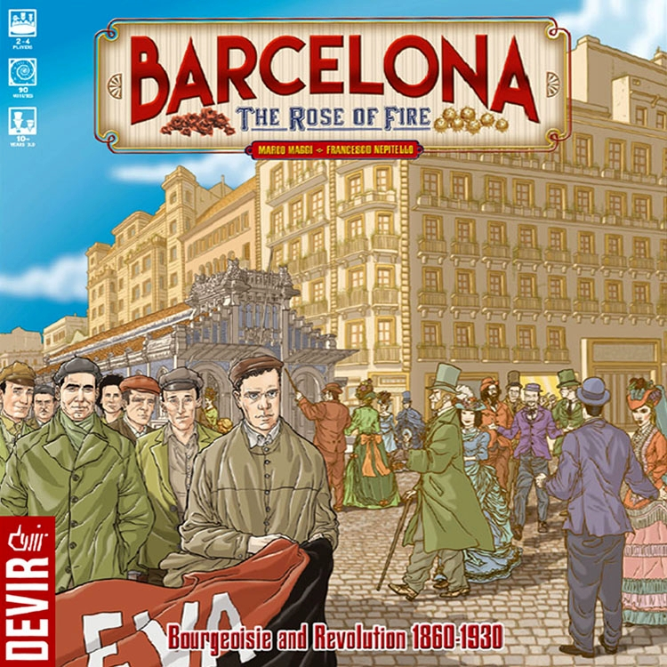 Barcelona: The Rose of Fire - obrázek