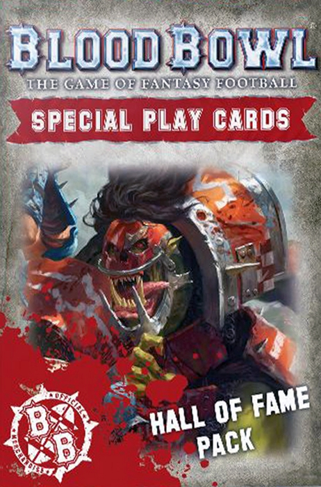 Blood Bowl (2016 edition): Hall of Fame Card Pack - obrázek