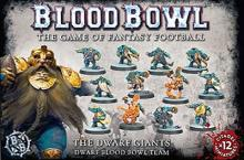 Blood Bowl team Dwarf Giants