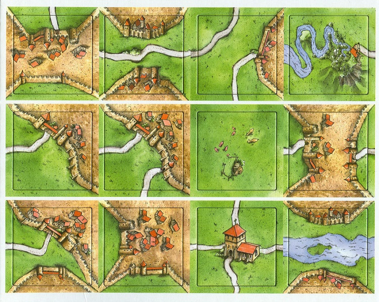 Carcassonne: The Mini Expansion - obrázek