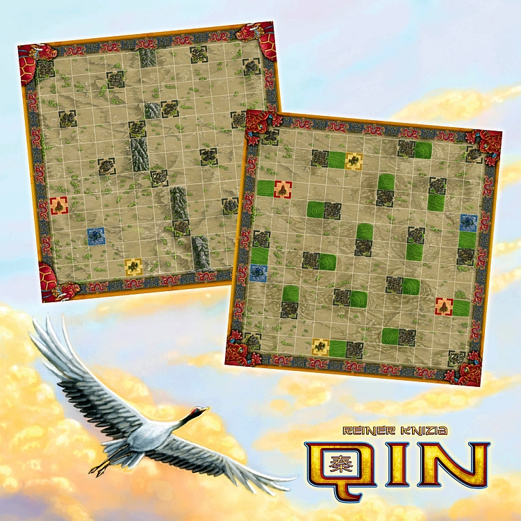 Qin: Toad and Dragon Turtle Game Boards - obrázek