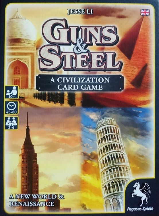 Guns & Steel - A Civilization card game - obrázek