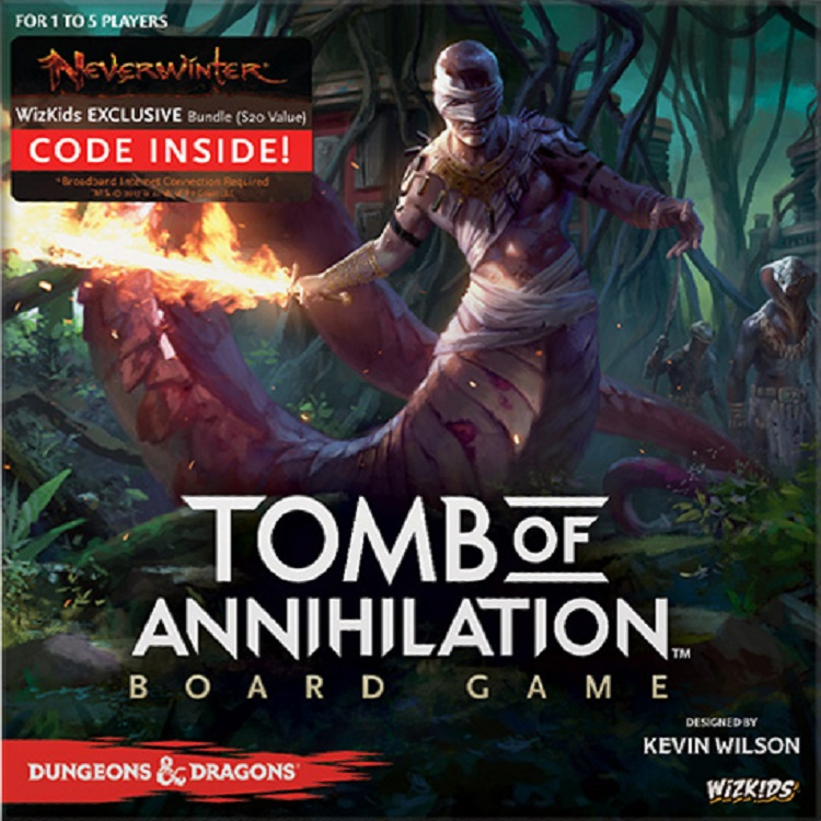 Dungeons & Dragons: Tomb of Annihilation Board Game - obrázek
