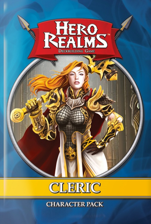 Hero Realms: Character Pack – Cleric - obrázek