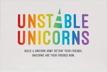Unstable Unicorns KS Black box+KS exklusive cards