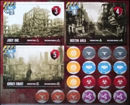 51st State: Master Set – Three Cities Mini Expansion - obrázek