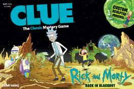 Clue: Rick and Morty Back in blackout - obrázek