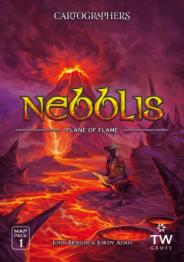 Cartographers Map Pack 1: Nebblis – Plane of Flame - obrázek