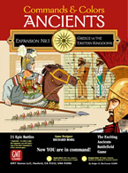 Commands & Colors: Ancients Expansion Pack #1: Greece & Eastern Kingdoms - obrázek
