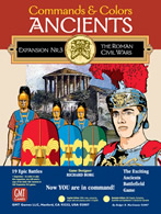 Commands & Colors: Ancients Expansion Pack #3: The Roman Civil Wars - obrázek