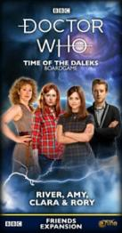 Doctor Who: Time of the Daleks – River, Amy, Clara & Rory - obrázek