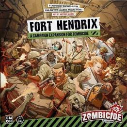 Zombicide 2nd Ed. Fort Hendrix + Gabriel