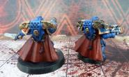 Ultramarines Captains zezadu, moje malba