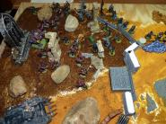 Chaos vs Imperial Guard
