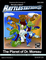 Battlestations: The Planet of Dr. Moreau - obrázek