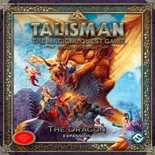 Talisman (fourth Edition): The Dragon - obrázek