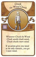 Agricola: The Legen*dairy Forest Deck - Chuck the Wood Chuck - obrázek