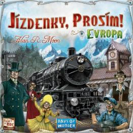 Prodám Ticket to Ride Evropa