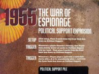 1955: The War of Espionage: Political Support Expansion - obrázek
