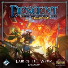 Descent: Journeys in the Dark (Second Edition) – Lair of the Wyrm - obrázek
