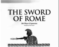 Sword of Rome 5th Player Expansion - obrázek