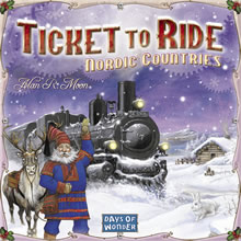 Ticket to Ride: Nordic Countries - obrázek