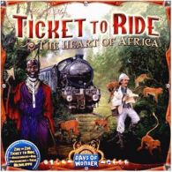 Ticket to Ride Map Collection: Volume 3 - The Heart of Africa - obrázek