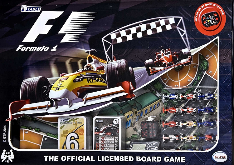 Formula 1: Officially Licensed Board Game - obrázek
