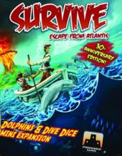 Survive: Escape from Atlantis! Dolphins & Dive Dice Mini Extension - obrázek