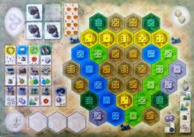 Castles of Burgundy, The: 4th Expansion - Monastery Boards - obrázek