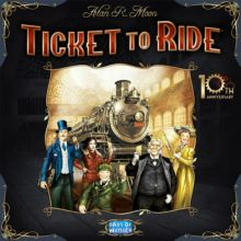 ticket to Ride: 10th Anniversary Edition-ve folii