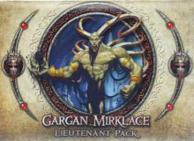 Descent - Gargan Mirklace Lieutenant Pack