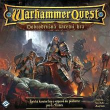 prodám Warhammer Quest: The Adventure Card Game