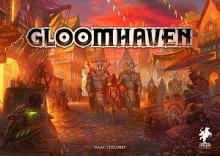 Gloomhaven 2.ed (EN) + standees + stickers