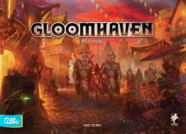 Gloomhaven EN + Removable stickers set