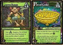 Ascension: Chronicle of the Godslayer - The Leprechaun and Pot of Gold Promos - obrázek
