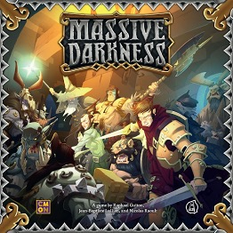 Massive Darkness - KS edice + Crossover pack