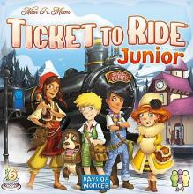Ticket to Ride Junior - obrázek