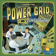 Power Grid -the card games