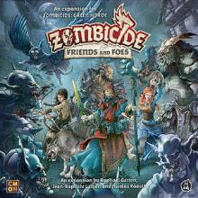 Zombicide GH Friends and Foes + KS excl figurka
