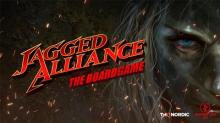Jagged Alliance - The Board Game  - obrázek