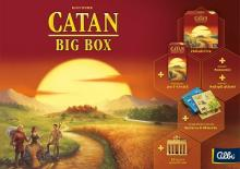 Catan: Big Box (CATAN Plus). Nový nevyloupaný!
