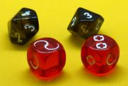 2x d6 attack dice + 2x d10 noise dice