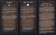 Independent Great Old One Loyalty Card - Ithaqua+Rhan-Tegoth + rub karty (z Onslaught Two)
