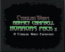 Cthulhu Wars: Ramsey Campbell Horrors Pack 1 - obrázek