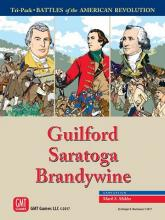 Battles of the American Revolution – Guilford, Saratoga, Brandywine - obrázek