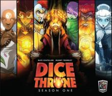 Dice Throne: Season One + obaly  + promo + komiks